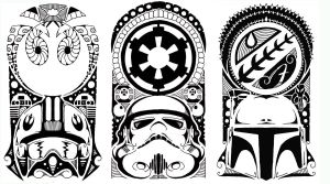 star wars polynesian tribal 2 by yayzus