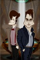 Dr who Matt and Jack Torchwood by dtdstudio