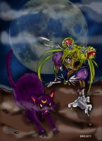 Sailor Moon zombie by emylee