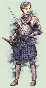 Brienne by TheFunnyBunny