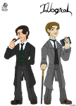 Illogical: Sherlock and Watson by Aileen-Rose