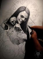 mother's death by AndreySkull