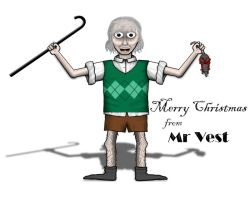 Merry Christmas from Mr Vest by the-jc-monster