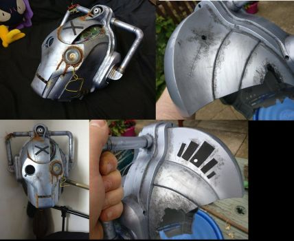 Custom Battle Damaged Cyberman Voice Changer by Hordriss