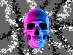 Skulls And Butterflys by Korn-Sickness