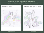 Draw this again meme by ElfGift