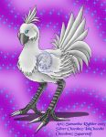 Gift Art: Silver Chocobo by True-Sathania