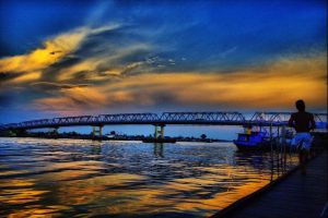 kapuas river 2 by pontianakdeviant