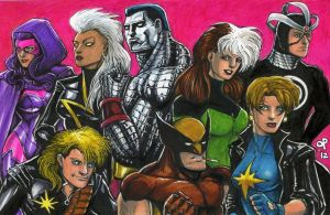 Uncanny X-Men, 1989 by olybear