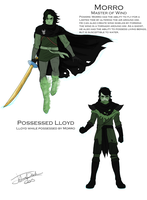 Possessed Lloyd and Morro by joshuad17