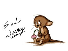 Sad Jerry by Mitch-el