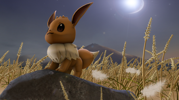 Motivational Eevee by TheEducatedPickle
