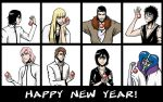 Bleach Happy Year by Tenzen-chan