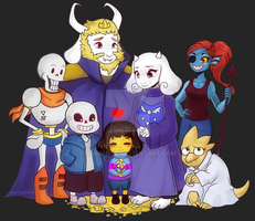 Undertale by Raidiance