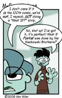 The Spoon Is A Lie by MFM-comics