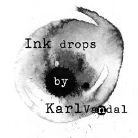 Ink Drop brushes -  High resolution by Karlvandal