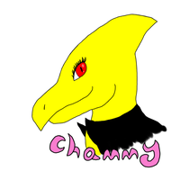 Chammy Badge by RoxasFlurry