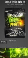 Reggae Party Flyer Template by ImperialFlyers