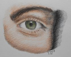 Gerard's Eye Coloring Practice by ArtisticKillJoy