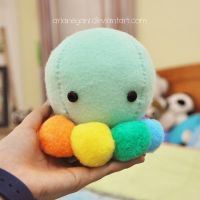 Slumpy the Octopus by arianeyani