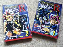 Yugioh R manga vol. 1 'n' 2 by Kittycatgal101