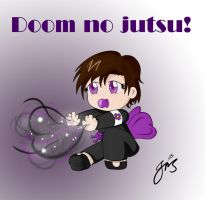 Ninja Baby - Doom no jutsu by IrisAngel131