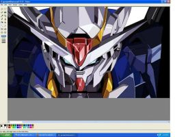 Gundam 00 MS paint by julius17