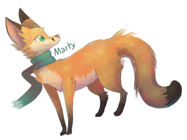 Marty The Fox by Vullo