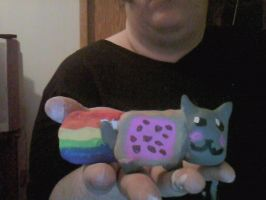 Ceramic Nyan CaT by vampirelover1245