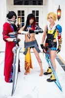 Final Fantasy X - Grand Three - Katsucon 2013 by ByndoGehk
