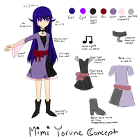Mimi Yorune Concept Art by moonst4r