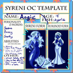 Syreni Oc Template - Angie by chaoskitty1257