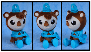 Commission: Shellington Custom Plush by Nazegoreng