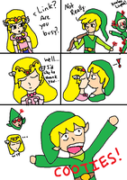 Zelda Comic 1 by comics-by-a-cat