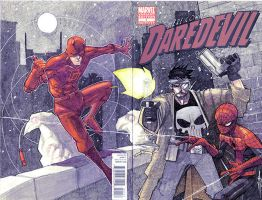 Daredevil Sketch Cover by JeremyTreece