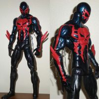 12' spiderman 2099 by future-trunks