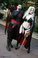 Mr. Sinister and Lady Death 2 by Insane-Pencil