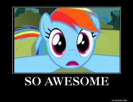 rainbow dash wub time demotivational by aruon
