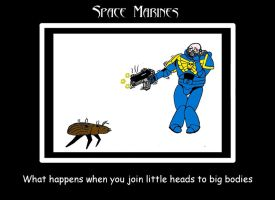 WH40K Space Marine 1 by 6uitar6reat6od
