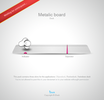 Metalic Board by idock