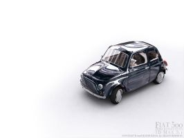 Fiat500 HDRI Unfinished by kashghan