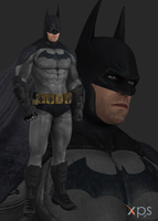 BAK Batman (Old Suit) by thePWA