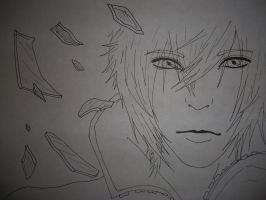 Noctis lineart by AnA--JuLy