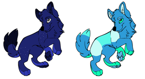 Random Little Wolf Adopts -OPEN- by PintoFire