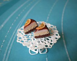 Cake Slices with Orange Studs by vesssper
