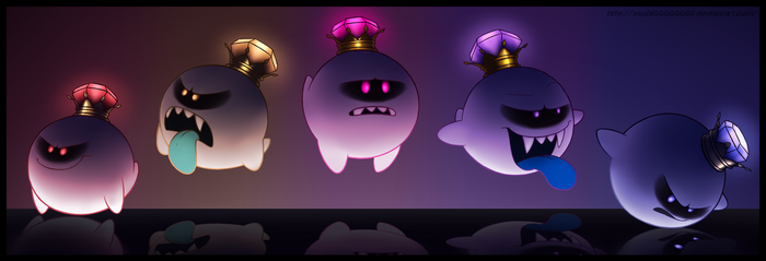 King Boo Doodlessss by Yoshi66666666
