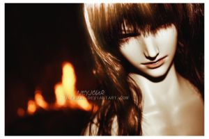 Bathed In Firelight by Neyjour