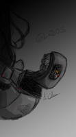 GLaDOS by Kasumy-Chan