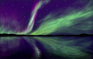 Lights in the sky by uneekL4evr