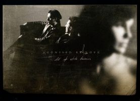 Agonised by Love - postcard by kubicki